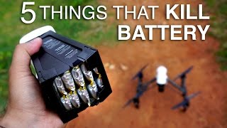 5 Things that can Kill your DJI Battery