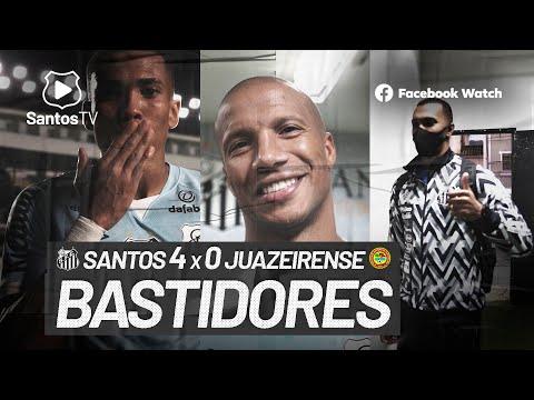 SANTOS 4 X 0 JUAZEIRENSE | BASTIDORES | COPA DO BRASIL (28/07/21)
