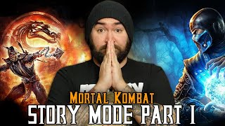 Mortal Kombat: STORY MODE (Part 1) - Mortal Kombat Monday.