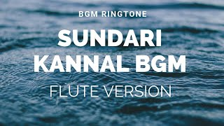 Flute Version Sundari kannal-bgm