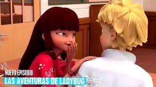 "¿LILA SABE QUE ADRIEN ES CHAT NOIR? | CAPÍTULO ""CHAMELEON"" | TERCERA TEMPORADA | Miraculous Ladybug"