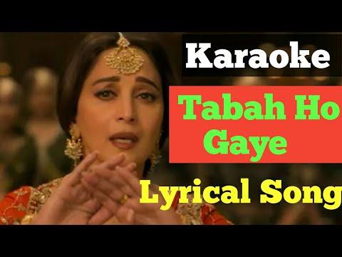 #KaraokeTabahHoGye Tabah Ho Gaye Karaoke Song Tabah Ho Gaye Karaoke Lyrics Song