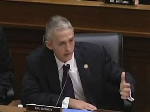 Congressman Trey Gowdy Owns National Park Service Director! Ridiculous Responses!