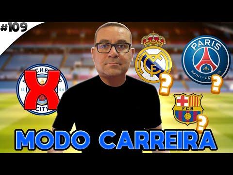 FIFA 21 MODO CARREIRA #108 | VOU ABANDONAR O MANCHESTER CITY