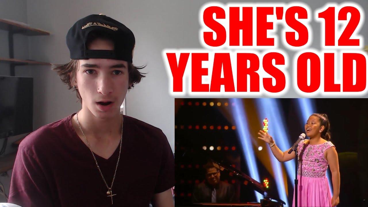 12 YEAR OLD GIRL SINGS CHANDELIER!!! - YouTube