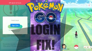 Pokemon GO: LOGIN Issue/Problem FIX (Authentication Fix / Loading Screen/Problem)