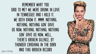 Mark Ronson - Nothing Breaks Like a Heart ft. Miley Cyrus (Lyrics)