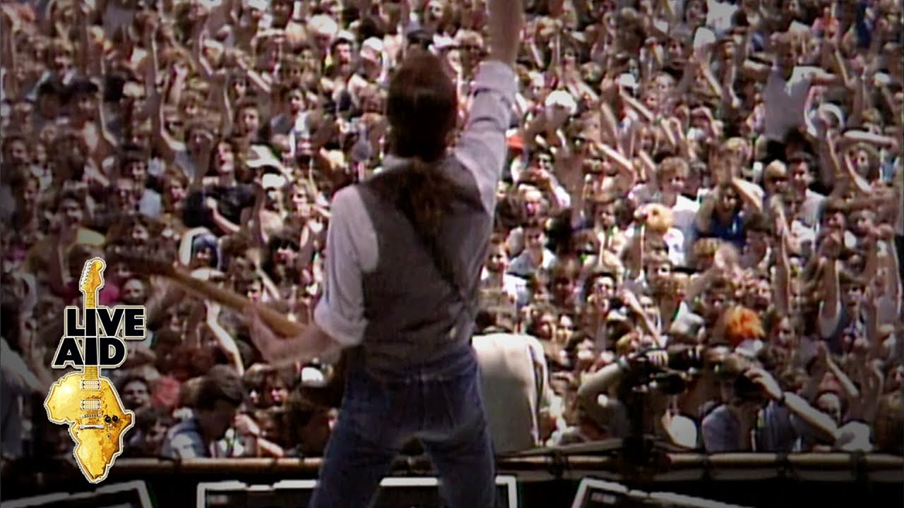 Status Quo Rockin All Over The World Live Aid 1985