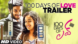 100 days of love || trailer ||  dulquer salmaan, nithya menen, govind menon