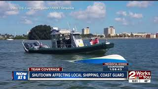 Shutdown affects Army Corps of Engineers, Coast Guard