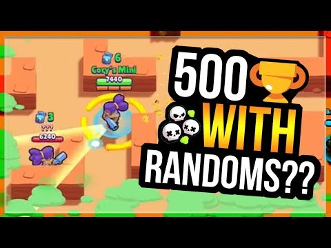 SHELLY To 500 With Randoms in Duo Showdown! Skull Creek - Br