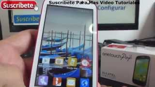 Alcatel One Touch Pop C3 caracteristicas y especificaciones español