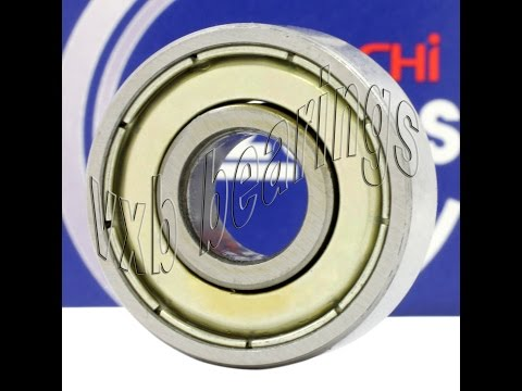 627ZZ Nachi Japan Shielded 7x22x7 Miniature Ball Bearing