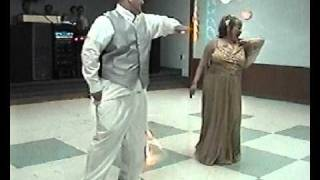 Mom and Son funny wedding dance 4-23-2011
