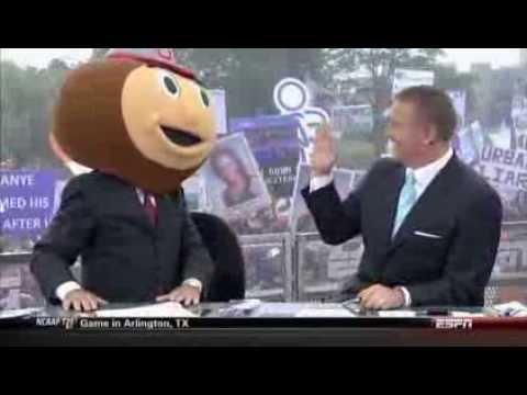 OSU Northwestern ESPN College Gameday 2013 - YouTube