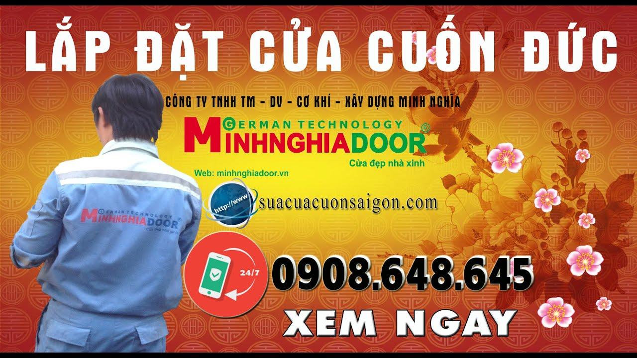 Lắp Đặt Cửa Cuốn Đức - Cửa Cuốn Minhnghiadoor /0906648645