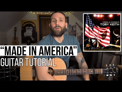 Made In America - Toby Keith (Beginner Guitar Lesson + Chords)