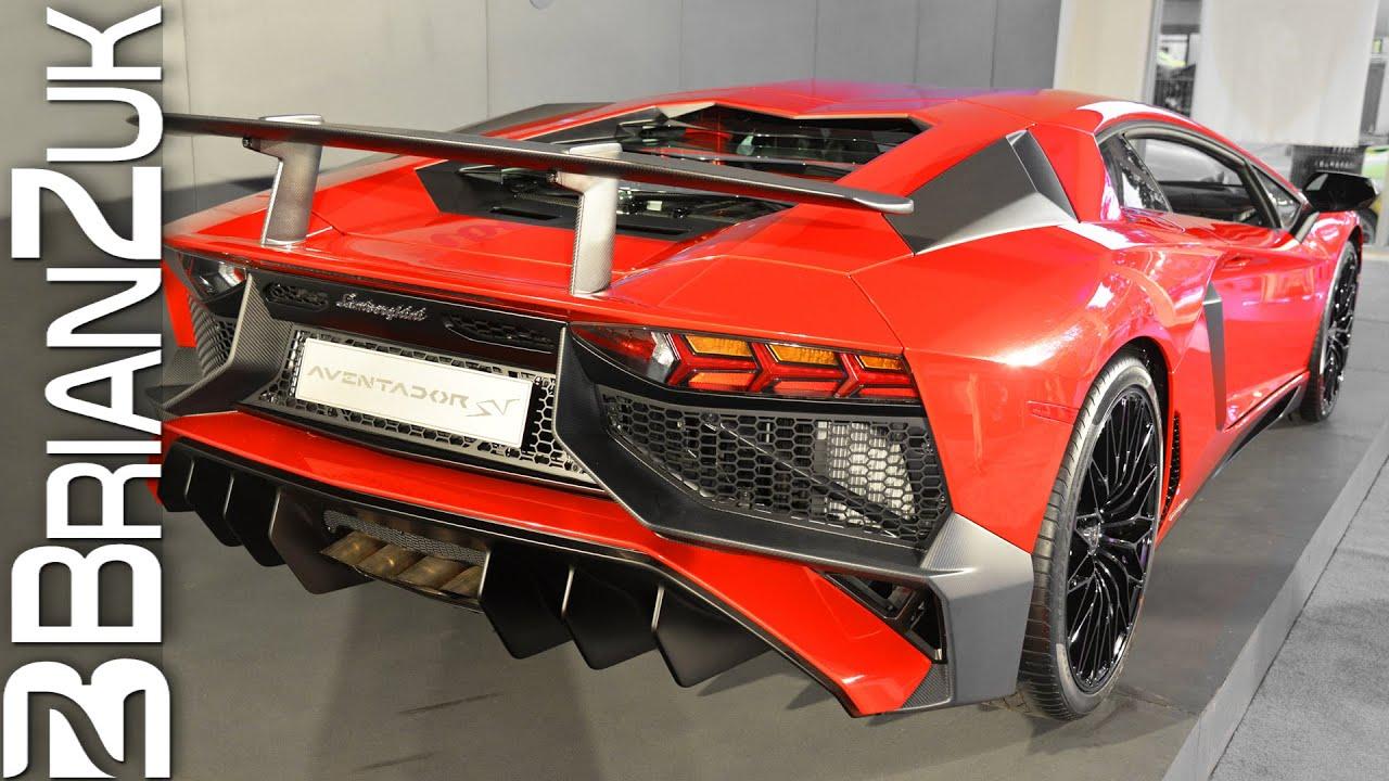 Lamborghini Aventador Lp750 4 Sv Youtube