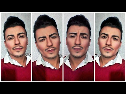 BEAUTY AND THE BEAST | LUKE EVANS GASTON | DISNEY MAKEUP TUTORIAL | EMMANEK19