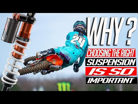 Motocross | Why choosing the right suspension is so importan