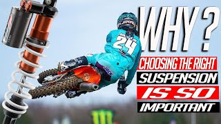 Motocross   Why choosing the right suspension is so important ft. WP/ Simpson/ Mewse & More