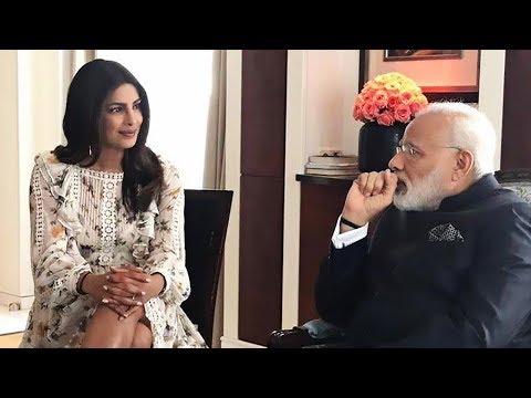 Priyanka Chopra meets Prime minister Narendra Modi in Europe