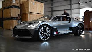 FIRST BUGATTI DIVO IN THE US!!! UNBOXING!