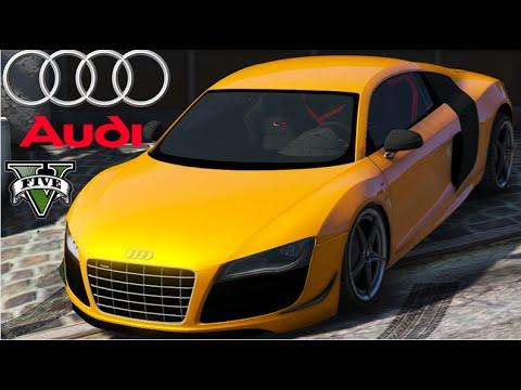 GTA V Mods -   Audi R8 GT