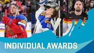 Individual Awards | #IIHFWorlds 2017