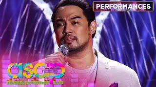 "Jed Madela's heart tugging performance of ""The Past"" 