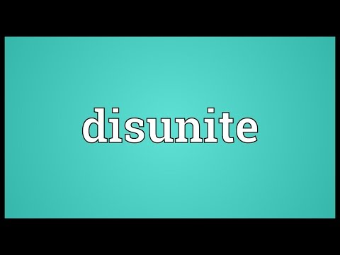Header of disunite
