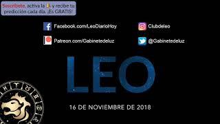 Horóscopo Diario - Leo - 16 de Noviembre de 2018