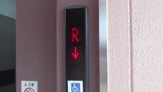 フジグラン山口立体駐車場のエレベーター