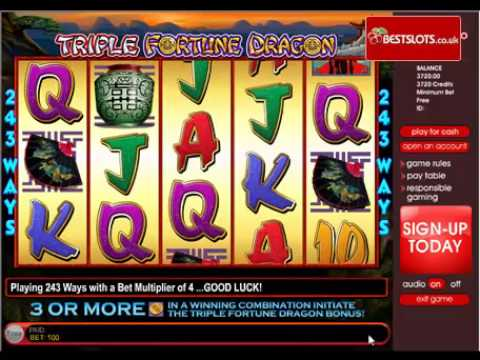 Triple Dragon Slot Machine