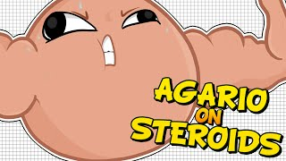 One of Double's most viewed videos: AGARIO ON STEROIDS! BIGGER THAN THE MAP!  - Agario