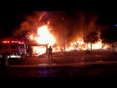 House Explosion Fire Chandler AZ (1/29/12)