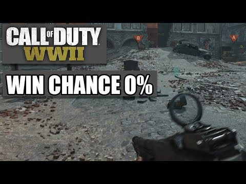 COD WWII Intern #01 - Dhalu VS. Rest - Call of Duty World War 2 MP