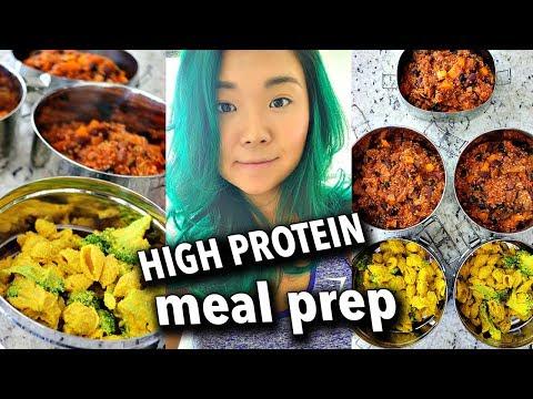 ONE HOUR VEGAN MEAL PREP / HIGH PROTEIN Vegan Mac & Cheese, Bean & Quinoa Chili