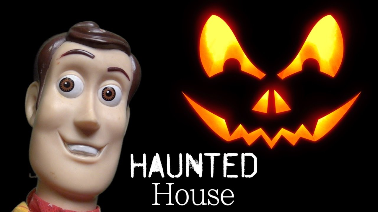 haunted house toy story 4 toy monsters woody kids wild ride halloween