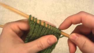 Demo: Bar Increase - Knit Front & Back (Kfb / Kf&b), Purl Front & Back (Pfb / Pf&b)