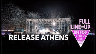 Release Athens 2017 - Full Line-Up