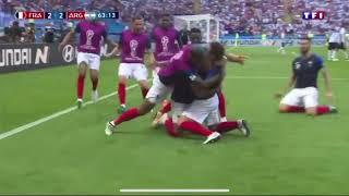France-Argentine Coupe du Monde 2018 TF1