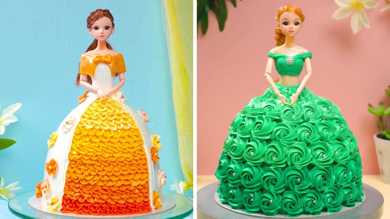 10 Easy and Adorable Birthday Party Cakes | Princess Themed Cake Ideas | Spirit Of Cake
