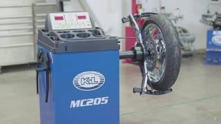 K L MC205 Wheel Balancer Motorcycle Wheel Balancing