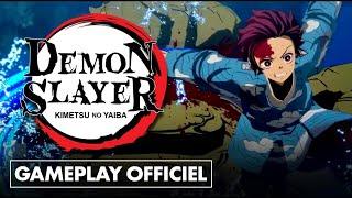 DEMON SLAYER : nouveau GAMEPLAY OFFICIEL : combats + mode histoire !💥