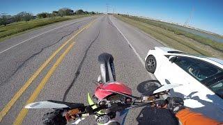 Car vs motorcycle