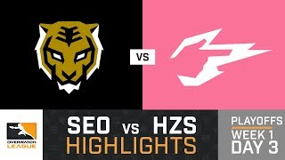 HIGHLIGHTS Seoul Dynasty vs. Hangzhou Spark | Playoffs | Week 1 | Day 3 | Overwatch League