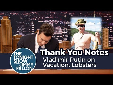 Thumbnail: Thank You Notes: Vladimir Putin on Vacation, Lobsters