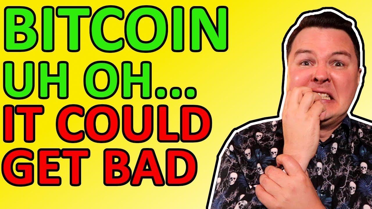 CRYPTO CRASHING HARD, BITCOIN PRICE GOING TO $42,500!!! MY BITCOIN PREDICTION