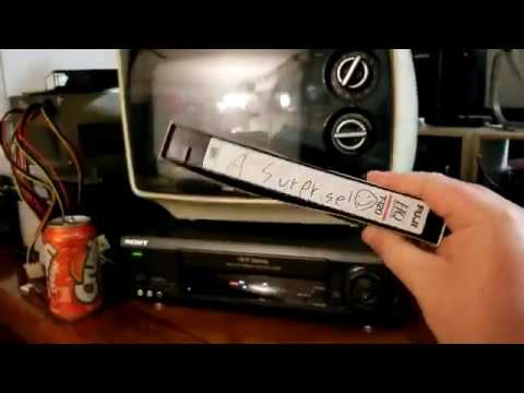 """Man finds VHS tape in junk store marked """"A surprise!"""""""